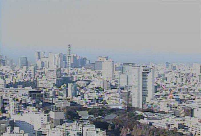 千代田区役所本庁舎北西方面