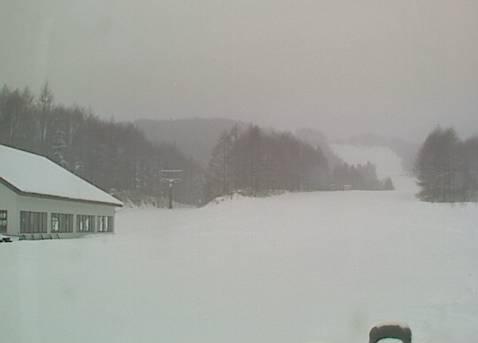 Mt乗鞍スノーリゾート夢の平クワッドリフト乗場付近