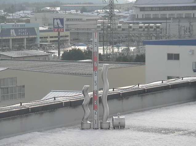 兵神装備滋賀事業所から積雪レベル