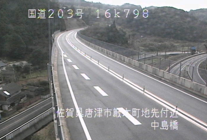 国道203号中島橋