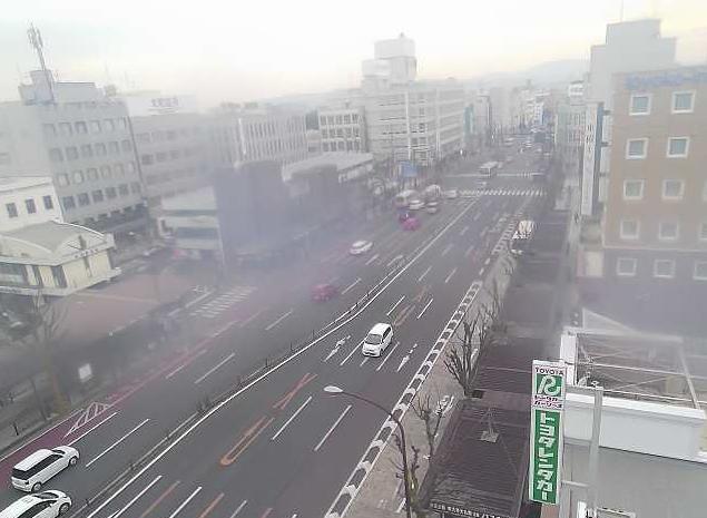 金子モータープールから近鉄奈良駅前・国道369号・高天交差点