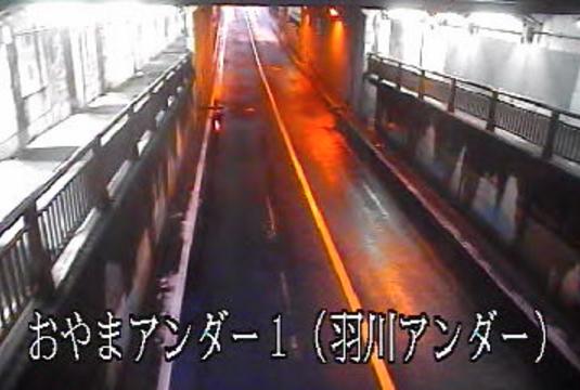 栃木県道33号小山環状線羽川アンダー