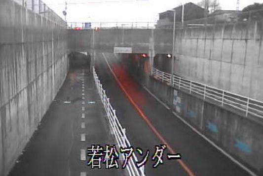 栃木県道151号堀米停車場線若松アンダー