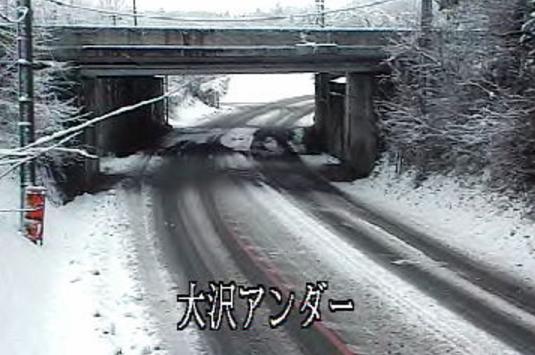 栃木県道110号下野大沢停車場線大沢アンダー