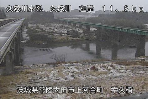 幸久橋から久慈川