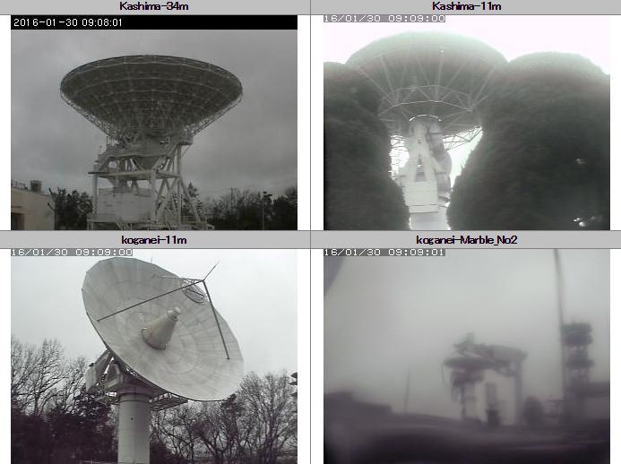 情報通信研究機構鹿島宇宙技術センターから34mアンテナ・11mアンテナ