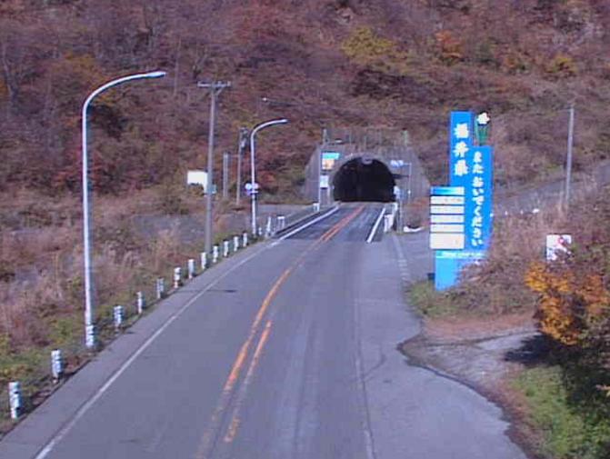国道157号谷ライブカメラ(福井県勝山市北谷町)