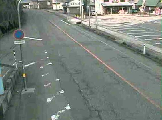 【冬期限定】国道156号西赤尾ライブカメラ(富山県南砺市西赤尾町)