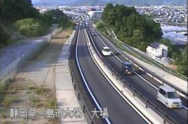 大場から国道1号東駿河湾環状道路が見えるライブカメラ。
