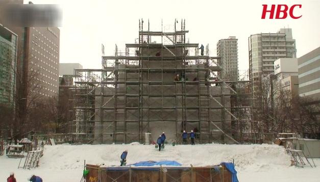 2018さっぽろ雪まつりHBCスウェーデン広場ライブカメラ(北海道札幌市中央区)