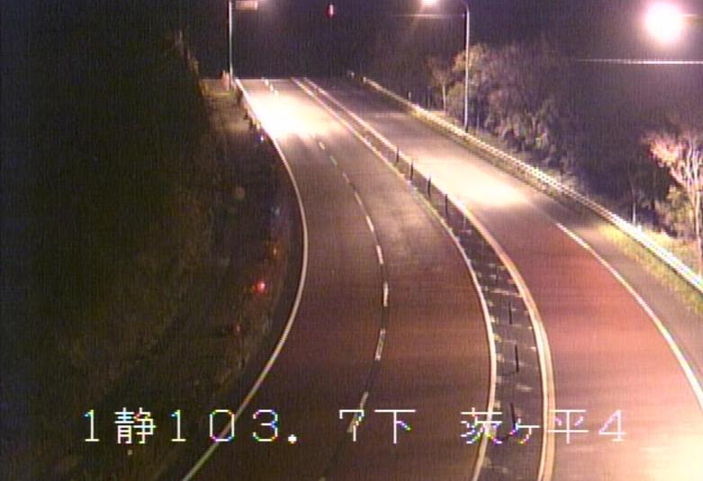 国道1号箱根峠茨ケ平第4ライブカメラ(静岡県函南町桑原)