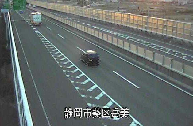 唐瀬ランプから国道1号(静清バイパス)
