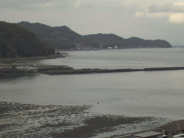 臼杵市役所屋上から臼杵湾