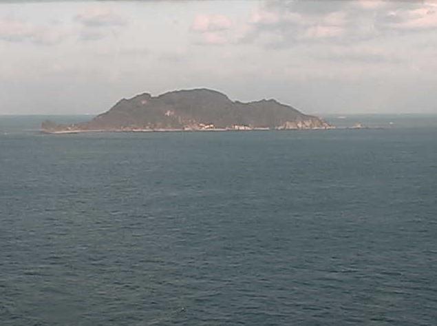 関埼灯台から高島・牛島・豊後水道
