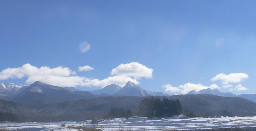 ホットステイちの(信州縄文の里茅野)から八ヶ岳連峰
