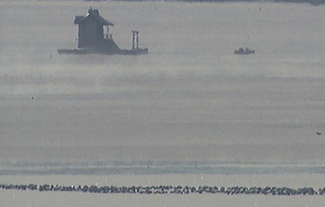 厚岸水鳥観察館から別寒辺牛川河口