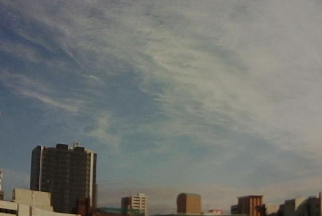 アイオーデータ機器広島営業所から広島上空