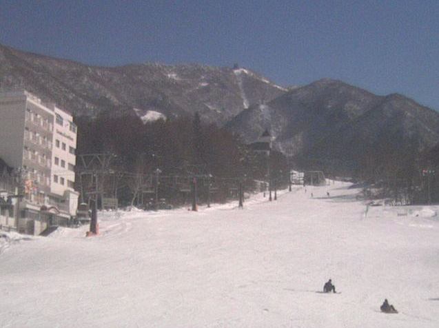 竜王スキーパーク山麓