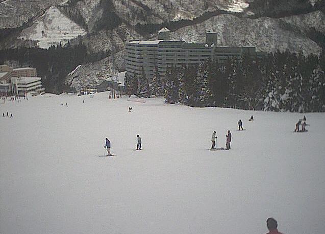 石打丸山スキー場ハツカ石サミットゲレンデ
