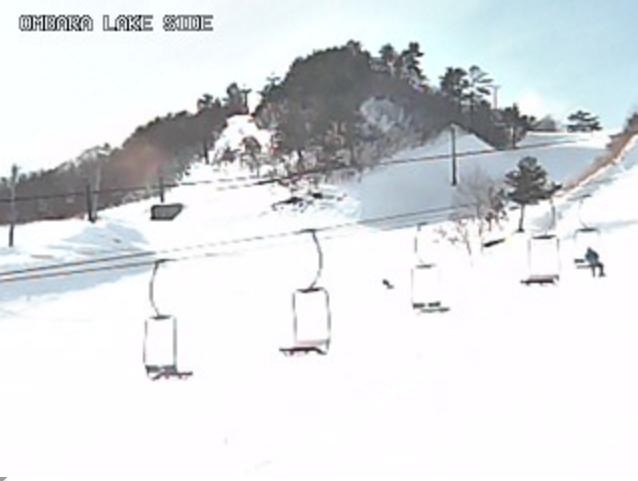 恩原高原スキー場レイクサイドゲレンデ