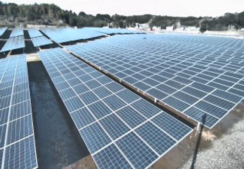 真柄観音太陽光発電所(まがらソーラーファーム観音の里)