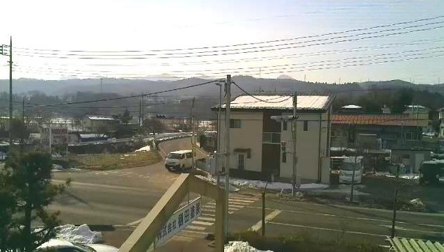 樋田塗装から国道353(号中之条町駅南バイパス)・榛名山方面