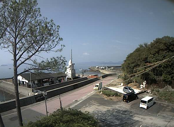 倉岳町宮田地区ライブカメラは、熊本県天草市倉岳町の倉岳町宮田地区に設置された八代海が見えるライブカメラです。