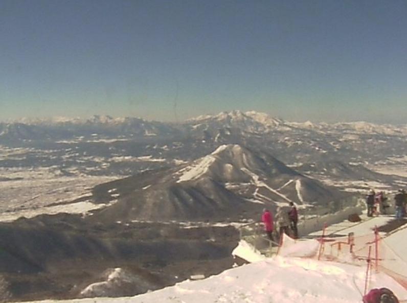 竜王スキーパーク山頂ライブカメラ(長野県山ノ内町竜王)