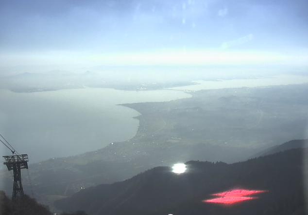 びわ湖バレイ琵琶湖側ライブカメラ(滋賀県大津市木戸)