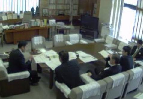 高知県庁知事室