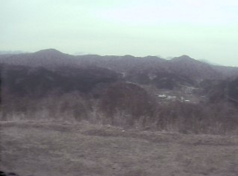 オーストリッチファーム湯原から櫃ヶ山