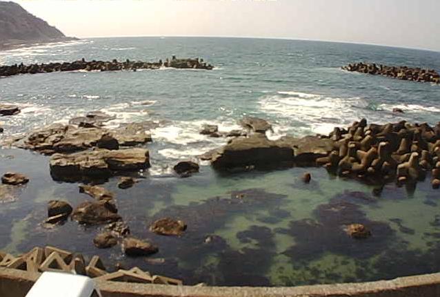 加茂水族館から日本海