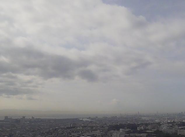 芦屋展望台から大阪方面・芦屋浜方面・神戸方面