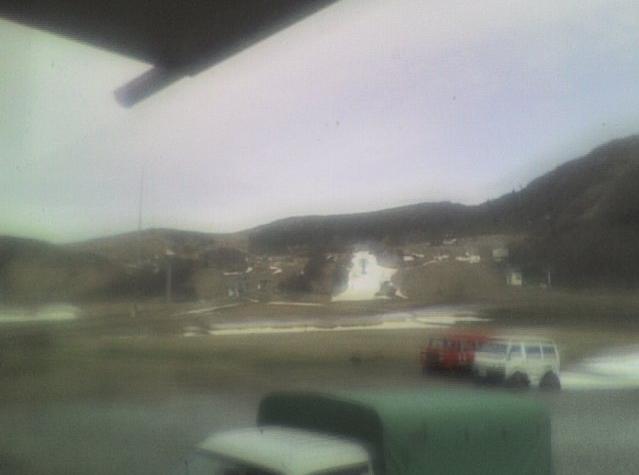 ホテル谷常からハチ高原スキー場谷常前ゲレンデ