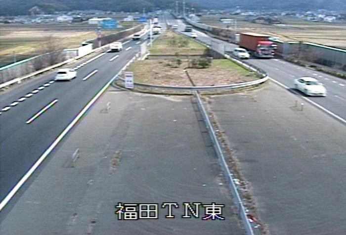 国道2号福田トンネル東