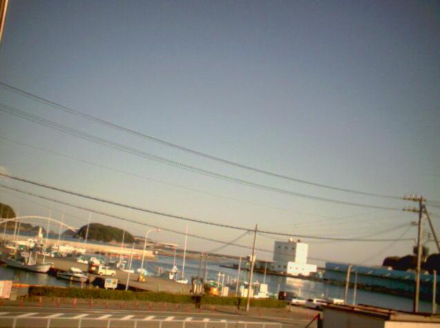 民宿ちゃいむから串本港・熊野灘