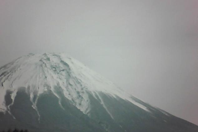 三浦牧場から富士山