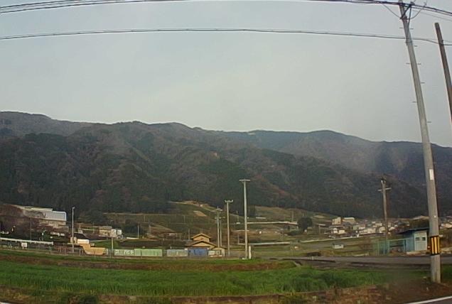 池田山フライトエリアから池田山