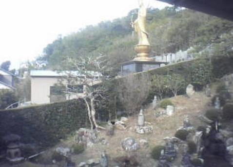 東林寺本堂西