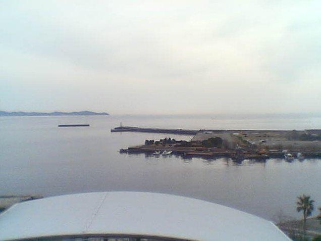 ホテルサンミ倶楽部から熱海港