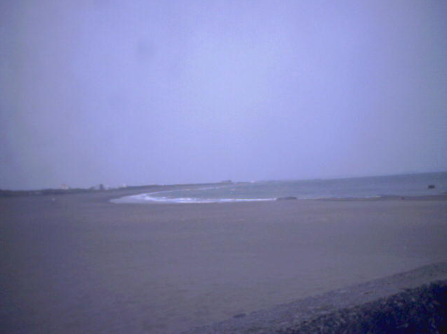 大磯漁港周辺から大磯海水浴場・相模湾
