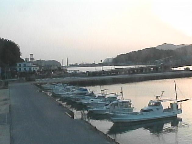 ひらおボートパークから小型船用特定係留施設・田布施川