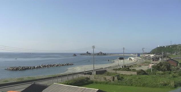 佐渡市入川から入崎海水浴場・日本海