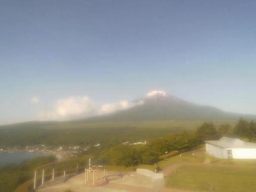 ホテルマウント富士から富士山が見えるライブカメラ。