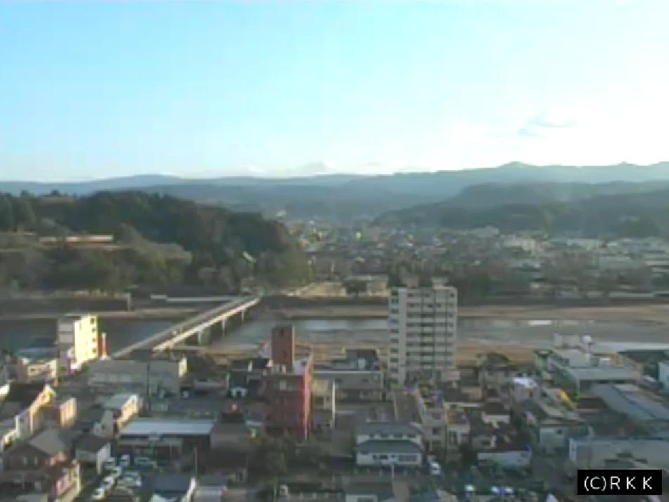 RKK人吉市内ライブカメラ(熊本県人吉市鍛冶屋町)
