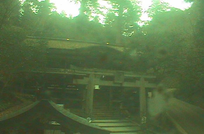 由岐神社拝殿ライブカメラ(京都府京都市左京区)