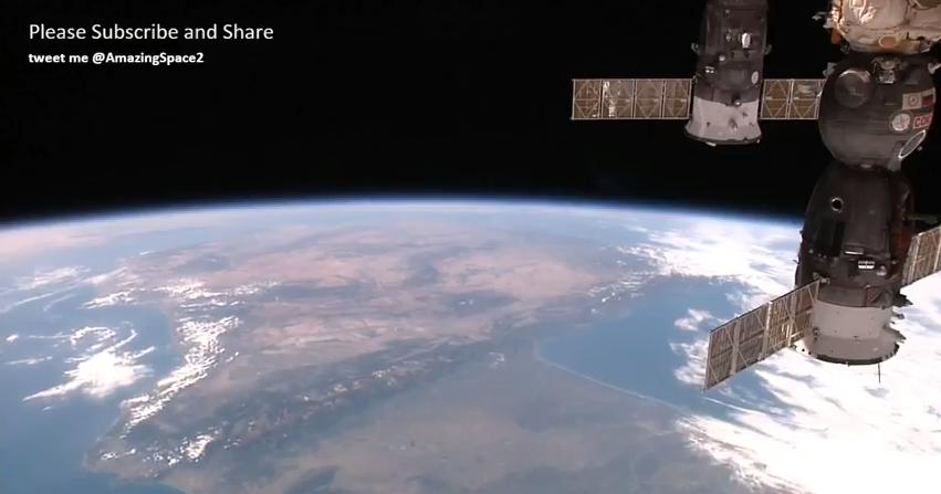 国際宇宙ステーション(ISS)から地球