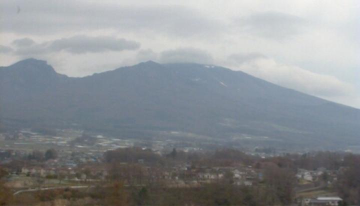 長野県パトロール本社から浅間山