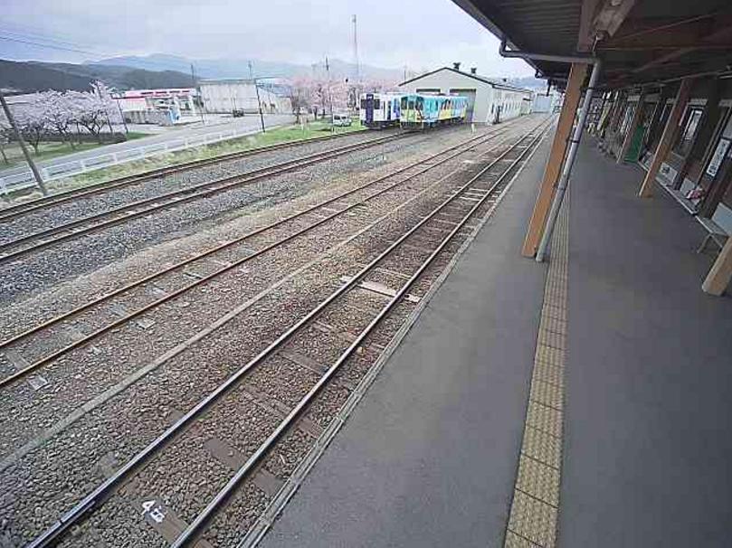由利高原鉄道矢島駅
