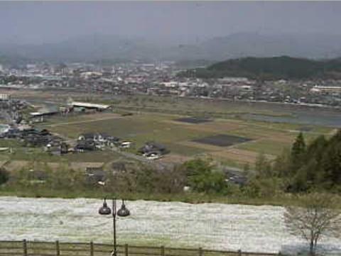サッポロビール九州日田工場から三隈川
